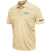 Colosseum Men's Georgia Tech Yellow Jackets Gold Performance Polo