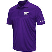 Colosseum Men's Kansas State Wildcats Purple Performance Polo