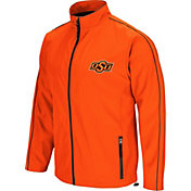 Colosseum Men's Oklahoma State Cowboys Orange Barrier Full Zip Wind Jacket