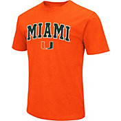 Colosseum Men's Miami Hurricanes Orange Dual Blend T-Shirt