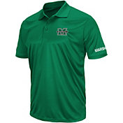 Colosseum Men's Marshall Thundering Herd Green Performance Polo