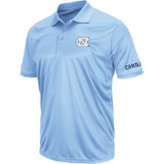 Colosseum Men's North Carolina Tar Heels Carolina Blue Performance Polo