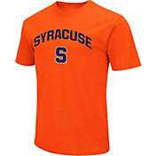 Colosseum Men's Syracuse Orange Dual Blend Orange T-Shirt
