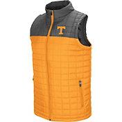 Colosseum Men's Tennessee Volunteers Tennessee Orange/Gray Amplitude Puff Vest