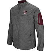 Colosseum Men's Texas A&M Aggies Grey Anchor Full-Zip Jacket