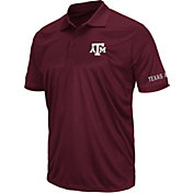 Colosseum Men's Texas A&M Aggies Maroon Performance Polo