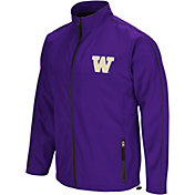 Colosseum Men's Washington Huskies Purple Barrier Full Zip Wind Jacket