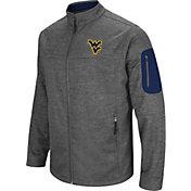 Colosseum Men's West Virginia Mountaineers Grey Anchor Full-Zip Jacket