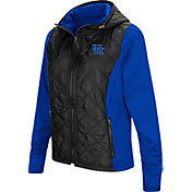 Colosseum Women's Kentucky Wildcats Black/Blue Six Fingers Full-Zip Jacket