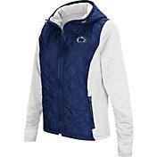 Colosseum Women's Penn State Nittany Lions Blue/White Six Fingers Full-Zip Jacket