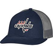 CCM Men's Washington Capitals Trucker Navy Mesh Adjustable Hat