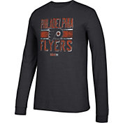 CCM Men's Philadelphia Flyers Line Brawl Black Long Sleeve Shirt