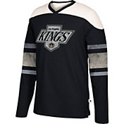 CCM Men's Los Angeles Kings Crew Grey Long Sleeve Shirt