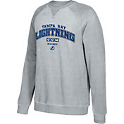 CCM Men's Tampa Bay Lightning Practice Grey Sweatshirt