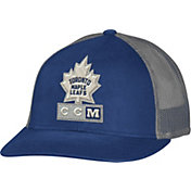 CCM Men's Toronto Maple Leafs Trucker Royal Mesh Adjustable Hat
