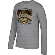 CCM Men's Pittsburgh Penguins Centennial Fly High Heather Grey Long Sleeve Shirt