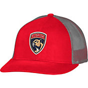 CCM Men's Florida Panthers Trucker Red Mesh Adjustable Hat