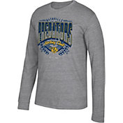 CCM Men's Nashville Predators Centennial Fly High Heather Grey Long Sleeve Shirt