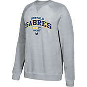 CCM Men's Buffalo Sabres Practice Grey Sweatshirt