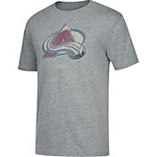 CCM Men's Colorado Avalanche Big Logo Heather Grey T-Shirt
