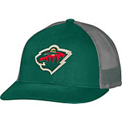 CCM Men's Minnesota Wild Trucker Green Mesh Adjustable Hat