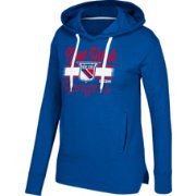 CCM Women's New York Rangers Bottom Stripe Royal Pullover Hoodie