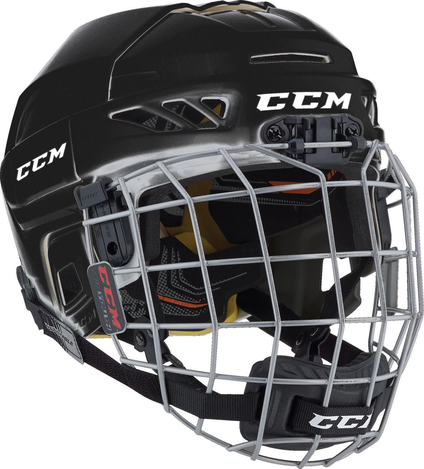 CCM Youth FL3DS Fitlite Ice Hockey Helmet Combo