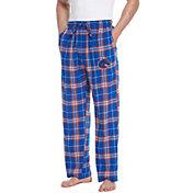 Concepts Sport Men's Boise State Broncos Blue/Orange Huddle Sleep Pants