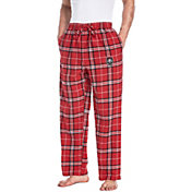 Concepts Sport Men's New Mexico Lobos Cherry/White Huddle Sleep Pants