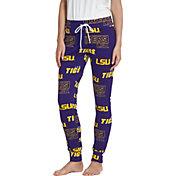 Concepts Sport Women's LSU Tigers Purple Slide Sleep Pants