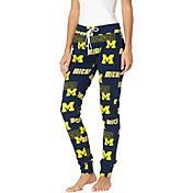 Concepts Sport Women's Michigan Wolverines Blue Slide Sleep Pants