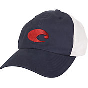 Costa Del Mar Men's Fitted Stretch Trucker Cap