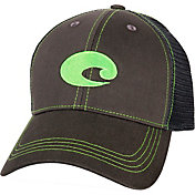 Costa Del Mar Men's Graphite Twill Trucker Cap