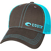 Costa Del Mar Men's Offset Logo Trucker Cap