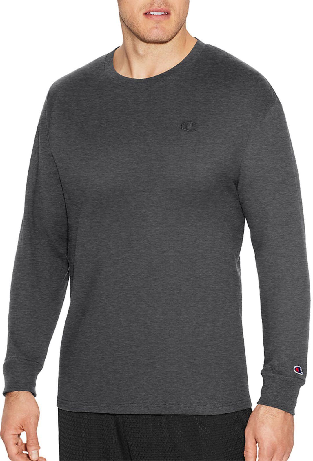 26e91d12b6ffe0 Champion Men's Classic Cotton Long Sleeve Shirt | DICK'S Sporting Goods