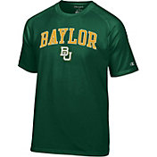 Champion Men's Baylor Bears Green Word Logo T-Shirt