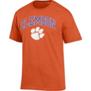 Champion Men's Clemson Tigers Orange Big Soft T-Shirt