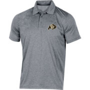 Champion Men's Colorado Buffaloes Grey Classic Polo