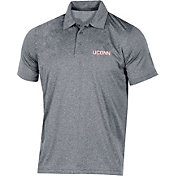 Champion Men's UConn Huskies Grey Classic Polo