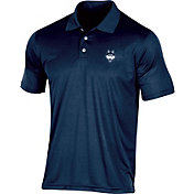 Champion Men's UConn Huskies Blue Classic Polo