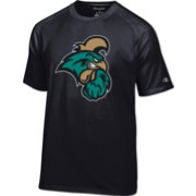 Champion Men's Coastal Carolina Chanticleers Black Big Logo T-Shirt