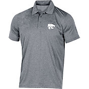 Champion Men's Kansas State Wildcats Grey Classic Polo