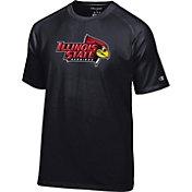 Champion Men's Illinois State Redbirds Black Big Logo T-Shirt