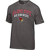 Champion Men's Illinois State Redbirds Grey T-Shirt