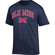 Champion Men's Ole Miss Rebels Blue Big Soft T-Shirt