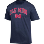 Champion Men's Ole Miss Rebels Blue Big Soft T-Shirt