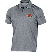 Champion Men's Louisville Cardinals Grey Classic Polo