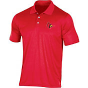 Champion Men's Louisville Cardinals Cardinal Red Classic Polo