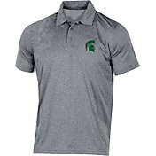 Champion Men's Michigan State Spartans Grey Classic Polo