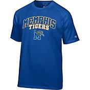 Champion Men's Memphis Tigers Blue T-Shirt